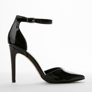 Express Pointed Toe Ankle Strap Pumps